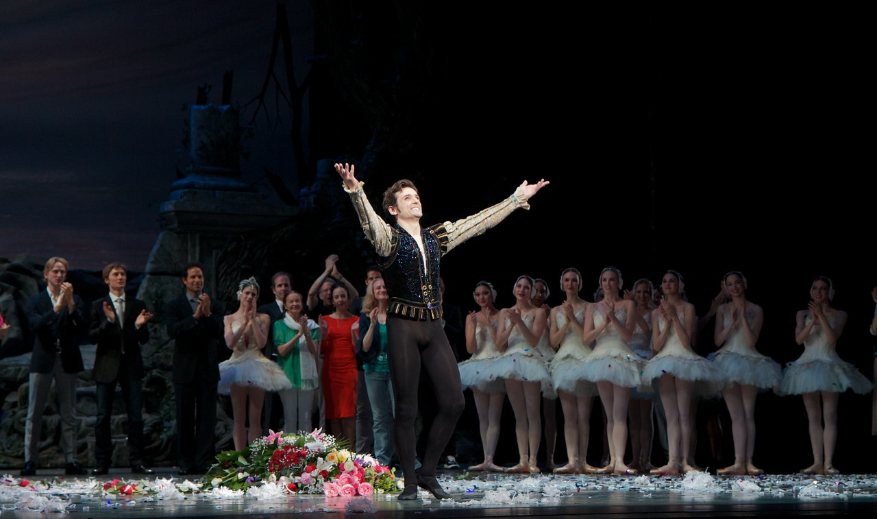 """Angel Corella Final Performance, June 28, 2012 <br><br> I have had the honor of seeing the final performances of three great American Ballet Theatre dancers: Nina Ananiashvilli, Angel Corella, and Ethan Stiefel. Here are photos from Angel Corella's finale in June 2012. Angel joined ABT in 1995 as a Soloist after Russian ballerina Natalia Makorova saw the young Corella perform in a competition and recommended that ABT take a look. At the time, he was a corps member for a small ballet company in his native Spain. At ABT, he quickly became a crowd favorite with daring bravado and boundless energy. He was known for his ability to pull off countless pirouettes with a violent whipping action.  <br><br> <a href=""""http://www.abt.org/education/dictionary/index.html"""">Here is an example</a> where he does nine pirouettes that go on forever (see """"Pirouette"""" for the nine turns and """"Tour de force"""" for a more elaborate turning section punctuated by a double tour to the knee). He was promoted to Principal Dancer in 1996. <br><br> I have seen Angel dance on many occasions and several stand out. I first saw him at a Don Quixote rehearsal at ABT studios shortly after he joined the company. During a break in a crowded village scene rehearsal, he wowed the dancers with numerous great tricks, pirouettes, tours, etc. Another highlight was <a href=""""http://www.youtube.com/watch?v=73AGYwofMdA&feature=related"""">Angel's version of Ali the Slave from Le Corsair.</a> In the turning section at the end of the second solo (7:55), he pulls in from second and plies during his pirouettes-truly spectacular. Also, double sauté de basques with both legs bent (7:16).  <br><br> <a href=""""http://www.youtube.com/watch?v=4LK2hlWjSz8&feature=related"""">Another notable performance</a> was at New York City Center taped for PBS, probably around 1998. I was in attendance and saw him and Paloma Herrera in a very athletic version of the Don Quixote pas de deux that had an all out, on the edge quality that brought the hous"""