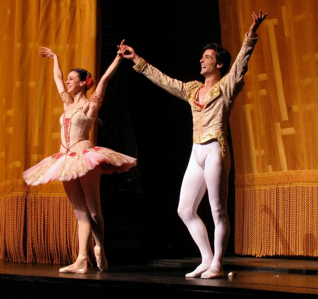 Nina Ananiashvili and Angel Corella, Don Quixote, June 14, 2008