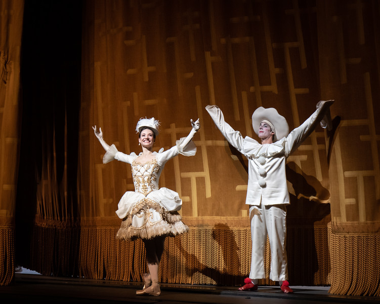 Christine Shevchenko and Blaine Hoven, Harlequinade, May 18, 2019