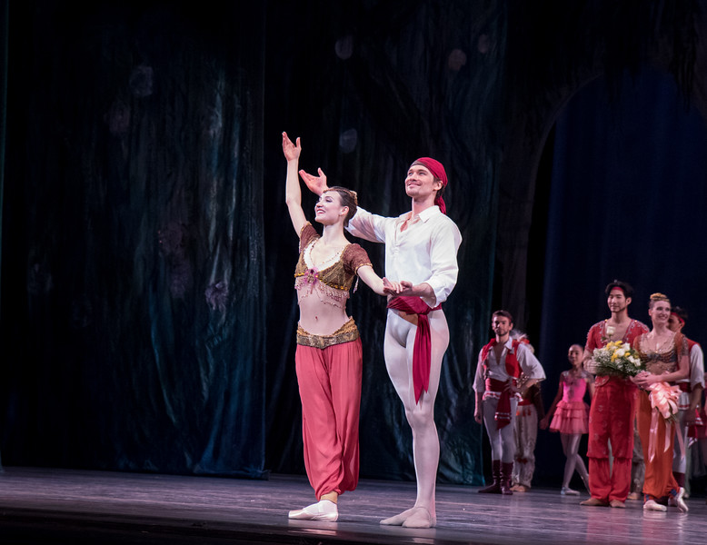 Christine Shevchenko and Cory Stearns, Le Corsaire, June 10, 2017