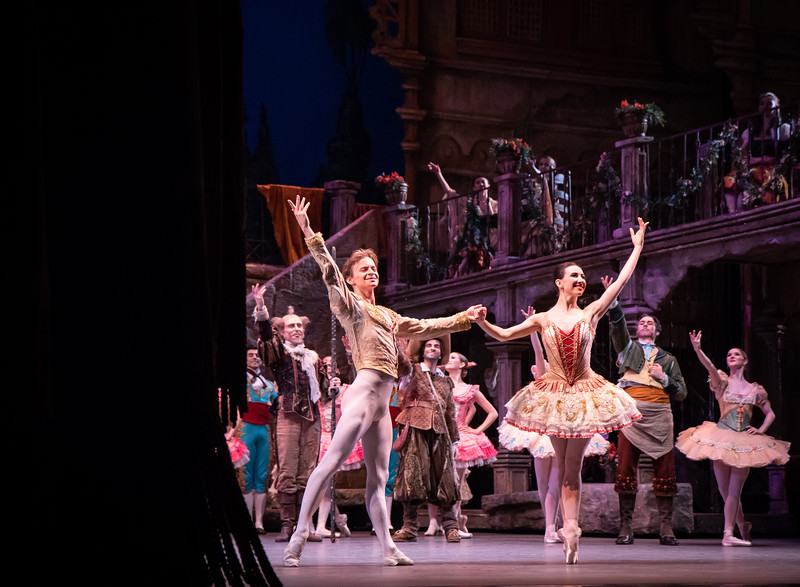 Isabella Boylston and Daniil Simkin, Don Quixote, June 28, 2018