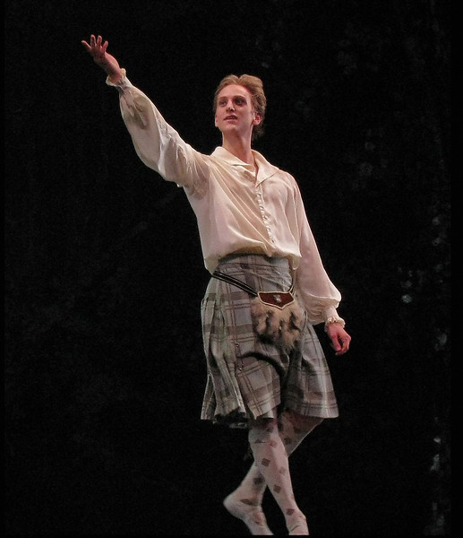 "David Hallberg, La Sylphide, June 18, 2009 <br><br> David Halberg was born in Rapid City, South Dakota and started dance at the age of 10 with his formal training starting at age 13 at the Arizona Ballet School in Phoenix. He continued his studies at the Paris Opera Ballet School. He attended ABT's summer intensive in 1999 and 2000 and joined ABT's studio company in 2000. He joined ABT in 2000 and was promoted to Soloist in 2004 and Principal Dancer in 2005. Halberg made <a href=""http://www.nytimes.com/2011/09/21/arts/dance/american-to-join-the-bolshoi-ballet.html"">front page news</a> in 2011 by becoming the first American to join the Bolshoi Ballet exactly 50 years after Rudolf Nureyev defected to the West. Fortunately, he still dances the spring season for ABT.  <br><br> Here are my favorite YouTube clips of David from Giselle:  <br><br> <a href=""http://www.youtube.com/watch?v=ePnOyaE7-3I"">In the first,</a> he performs 24 entrechat six which is six crossings of the legs. It is remarkable that he is able to maintain his form and crisp beats in this difficult and very exhausting sequence. He partners with Natalia Osipova and there is commentary on the clip, but in Russian.   <br><br> <a href=""http://www.youtube.com/watch?v=zdxR1j_LkdA"">The second</a> is his solo in Giselle . These clips reveal his great technique, line, feet, placement, and extension. He has it all."