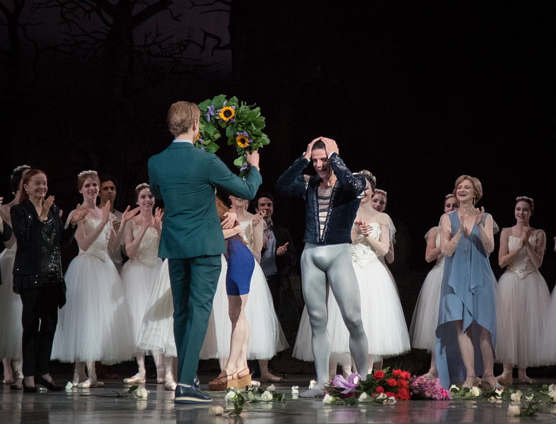 Marcelo Gomes and David Hallberg, Marcelo's 20th Anniversary ABT Performance, Giselle, May 30, 2017