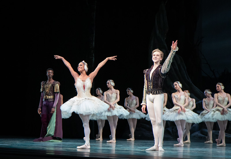 Misty Copeland and David Hallberg, June 29, 2019