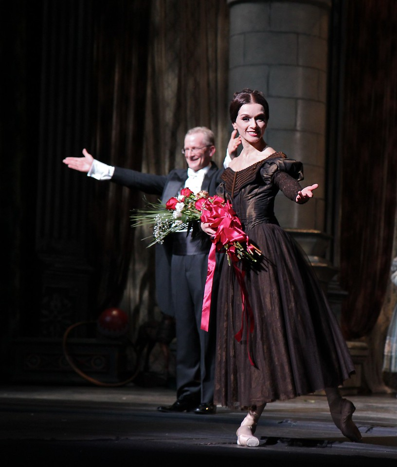 Irina Dvorovenko, May 18, 2013, Irina's Final ABT Performance<br /> <br /> Irina and David LaMarche, conductor