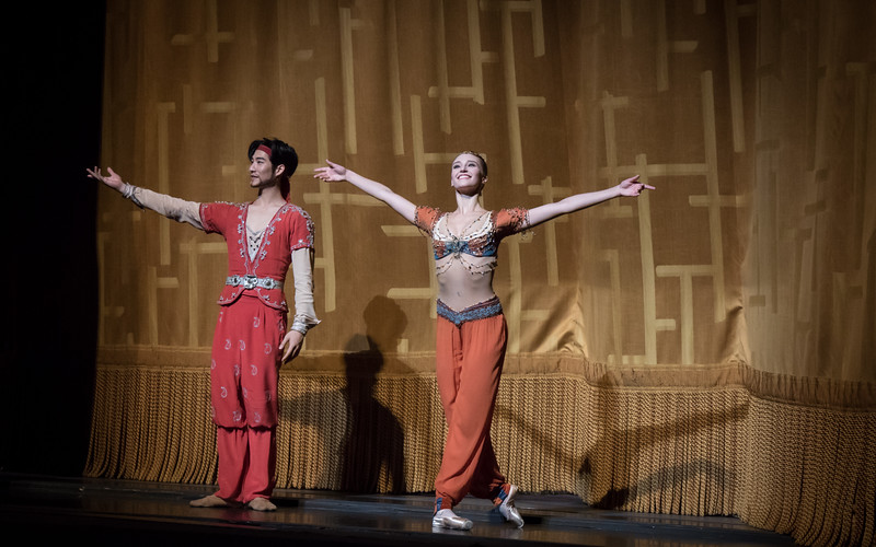 Devon Teuscher and Joo Won Ahn, Le Corsaire, June 10, 2017