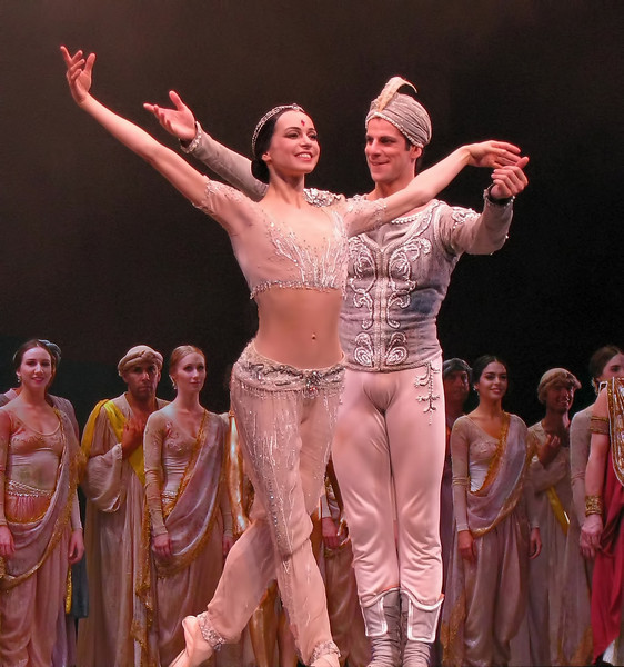 Diana Vishneva and Marcelo Gomes, La Bayadere, May 20, 2010