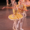"Polina Semionova and Cory Stearns, Theme and Variations, November 7, 2013<br /> <br /> The ABT mixed rep bill Thursday was nicely diversified with a Balanchine classic (Theme and Variations), an Ashton story ballet (A Month in the Country), and a new Ratmansky work (Piano Concerto #1).<br /> <br /> Ashton's ""A Month in the Country,"" had its ABT debut in May 2013 at the Met. According to John Gruen's ""The World's Great Ballets,"" Ashton retired as director and chief choreographer of The Royal Ballet in 1970 and withdrew from public view. However, in 1975, he announced that he would choreograph a ballet inspired by Ivan Turgenev's play by the same name with music by Chopin. The work debuted in 1976 with Lynn Seymour and Anthony Dowell as leads. The work ""...is another example of Ashton's ability to convey a complex dramatic narrative through seamless choreography, without sacrificing any of the original's insightful characterizations, wit, and passion,"" according to Gruen.<br /> <br /> The curtain opens revealing the spectacular interior of the Yslaev's summer home in the 1850s. The scene reveals a carefree day of leisure in the wealthy Yslaev household as the family is engaged in mundane household activities. Yslaev's wife Natalia Petrovna (Julie Kent) reclines on a sofa with her admirer Rakitin (Grant DeLong) seated on a nearby bench; Kolia (Daniil Simkin), a young son of Yslaev and Natalia, works on his homework while Yslaev (Victor Barbee) sits on a chair reading a newspaper. Vera (Gemma Bond), the Yslaevs' adolescent ward, plays the piano. Yslaev doesn't seem bothered by the presence of a fawning admirer of his wife.<br /> <br /> Tiring of her piano practice, Gemma dances an impetuous, spunky solo filled with youthful energy. Gemma is from England and danced at The Royal Ballet until moving to ABT in 2008. Daniil follows with a spectacular solo while playing with a ball, filled with energetic pirouettes with very wide arms followed by a massive double tour that fills a lot of space with his wide arm carriage. Daniil was very good in playing this immature youth.<br /> <br /> Beliaev (Guillaume Côté, guest artist from the National Ballet of Canada), Kolia's tutor, enters during his solo. Vera quickly takes notice of this handsome man as Natalia affectionately greets him. Beliaev is a debonair cad and all of the women fall for him: Katia a maid (Stella Abrera), Natalia, and Vera. First up is Vera, who dances a tender pas de deux with him as Natalia walks in and discovers them. Upset, Natalia slaps Vera, and then regrets her aggressive action. As Natalia and Vera leave, Katia discovers Beliaev and the two dance together. Katia has clearly fallen for him. However, Beliaev loves Natalia.<br /> <br /> Later in the work, Natalia and Beliaev are alone and embrace. Vera enters and catches them in their romantic pose (apparently the Yslaev's don't have locks on their doors) and attempts to extract revenge by calling everyone into the room. Rakitin tells the two lovers that they have caused enough trouble and should leave. Beliaev departs and then comes back to say goodbye. Natalia is sad; recognizing her agony, he decides not to create more anguish and quietly walks away, unnoticed by her. The work ends with Natalia kissing a rose that was pinned to Beliaev's jacket as the curtain falls.<br /> <br /> Gemma Bond demonstrated her dramatic versatility, ranging from a sweet young girl to a star-crossed lover, to a bitter, spurned women seeking revenge. As Beliaev, Côté has the looks and gravitas to pull of this role of super cad. He had several slow pensive introspective solos filed with plush assembles, arabesques, and pique turns that were well done. Julie Kent excels at these dramatic roles and demonstrated her attraction for Beliaev, rage at Vera, and ultimate loss through her dancing.<br /> <br /> Piano Concerto #1 is my favorite of the three pieces in Shostakovich Trilogy by Alexi Ratmansky that premiered in May 2013. The leads Thursday were Gillian Murphy/Calvin Royal III and Skylar Brandt/Gabe Stone Shayer. Another example of young dancers getting a chance to perform lead roles as all are members of the Corps except for Gillian.<br /> <br /> The dancers' bodies are clearly on display as the males wear unitards (costumes by Keso Deeker) with the women wearing red leotards. The scenery consists of red objects hung in suspension against a blue backdrop, reminiscent of the hammer and sickle and other Soviet imagery.<br /> <br /> There is plenty of non-stop action in this athletic, high-energy piece with the four main dancers appearing in various combinations. Gillian and Skylar danced well together; I was very impressed with Skylar and her rapid, powerful turns. She is small in stature, similar to Principal Dancer Xiomara Reyes. Skylar had a grande jete diagonal section in which she seemed to fly, similar to Natalia Osipova, who performed the role in the spring season. I look forward to seeing more of Skyler, the recipient of a 2013 Princess Grace Award. Gillian was, as usual, very solid.<br /> <br /> Ratmansky gives the men a workout and Royal and Shayer were up to the task. Royal is tall and lean, and covers a lot of ground with ease while Shayer's more compact build facilitates his rapid, aggressive turns. I particularly liked their nice double assemble diagonal. However, both need to work on landings, as several were sloppy with large hops after landing.<br /> <br /> Polina Semionova and Cory Stearns opened the show with Theme and Variations. I saw them in this role last week and thought that Cory was more energetic in this performance. Polina's solos were outstanding, demonstrating great control in this difficult up-tempo piece, similar to last week. However, I thought their partnering section was better last week as they were not as in synch Thursday."