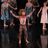 """Herman Cornejo, The Tempest, November 2, 2013 <br><br> Theme and Variations is one of my favorites, having seen this Balanchine classic many times. The work, which Ballet Theatre premiered in 1947, was intended to honor the period when Russian ballet flourished with the aid of Tchaikovsky's music. <br><br> ABT performed this work Saturday evening with Polina Semionova and Cory Stearns as leads. Polina was outstanding, completely in control and at ease throughout this difficult piece. Tricky segments include a multiple fouetté turn section with alternating arms into a pas de chat jump, a rapid beat section, and double pirouettes from first position into a pas de chat, all requiring rapid fire execution to keep up with the music. Polina pulled off all of these segments with grace and style, one of the best performances that I have seen from her. Her phrasing with her arms was on the mark with the beautiful Tchaikovsky score. <br><br> Cory was fine although not outstanding in his tough solo variations. The challenging section that male dancers dread consists of a diagonal of rond de jamb leaps followed by sissonne jumps and, just when the dancer is running out of gas, a treacherous eight tour/pirouette section. I heard that James Whiteside and Daniil Simkin struggled this season with the tour/pirouette section; Cory safely navigated this section, although traveled some distance during the turns. His rond de jamb section was not exciting or noteworthy, <br><br> The two danced well together in the pas de deux; Polina completed several long balances as she alternated arms with Cory in support before going into a penchée. <br><br> Speaking of Theme, I ran across a <a href=""""https://www.youtube.com/watch?v=OgCareuuxK4"""">YouTube clip</a> of Baryshnikov and Kirkland from 1978 on PBS. Baryshnikov's solo at 7:55 is spectacular with his high rond de jamb leaps with alternating arms and perfectly controlled tours. <br><br> Stanton Welch's Clear (2001) featured Sascha Radetsky, Thom"""