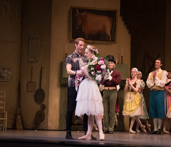 Gillian Murphy and James Whiteside, Gillian Murphy 20th Anniversary with ABT Celebration, May 28, 2016