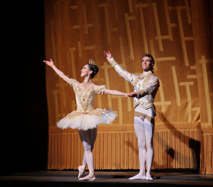 Hee Seo and James Whiteside. Cinderella, June 9, 2014