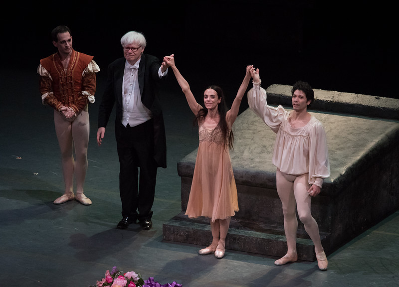 Craig Salstein, Ormby Wilkins, Alessandra Ferri and Herman Cornejo, Romeo and Juliet, June 23, 2016