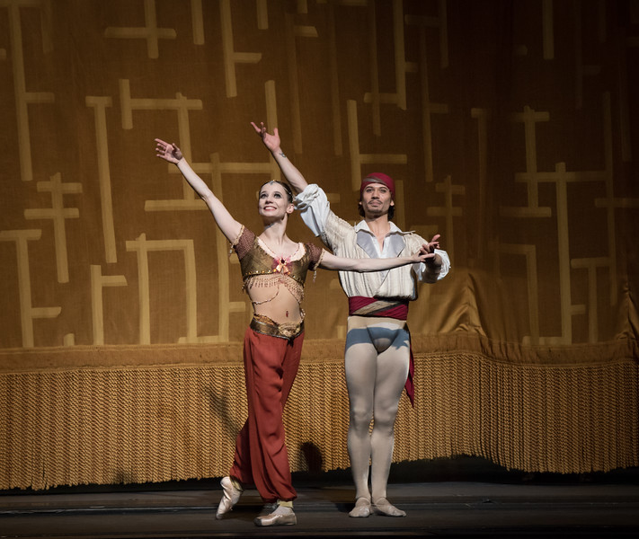 Maria Kochetkova and Herman Cornejo, Le Corsaire, June 2, 2016