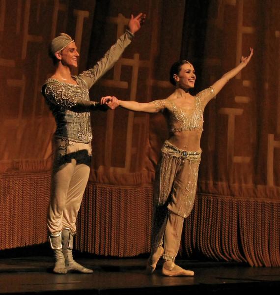 Irina Dvorovenko and David Hallberg, La Bayadere, June 18, 2009