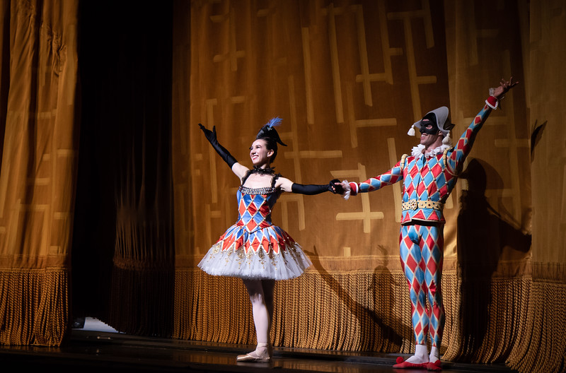Isabella Boylston and James Whiteside, Harlequinade, June 4, 2018