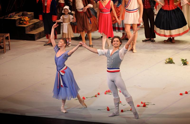 Oksana Bondareva and Ivan Vasiliev, Flames of Paris, November 14, 2014