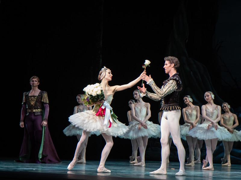 Christine Shevchenko and James Whiteside, Swan Lake, June 20, 2018