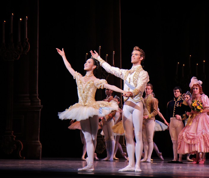 Hee Seo and James Whiteside, Cinderella, June 9, 2014