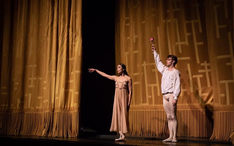 Stella Abrera and James Whiteside, Romeo and Juliet, June 18, 2018