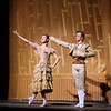 "Hee Seo and Jared Matthews, Don Quixote, May 17, 2014<br /> <br /> Polina Semionova was stunning as Kitri in Don Quixote Saturday night. If there is a better Kitri in the world today, I would like to see it. She was in control throughout the evening, making the difficult and physically demanding role look easy. Standout technical parts include:<br /> <br /> • Endless balances in the Grand Pas de Deux that drew gasps from the crowd. Conductor Ormsby Wilkins had to extend the music, waiting for her to conclude her balance. WOW!!!<br /> <br /> • A nice fouetté section in her final solo that alternated single and double pirouettes with one hand on her hip and other hand overhead on the double. The sequence started out with a quadruple pirouette. It takes a lot of guts to start out a difficult turn sequence with four pirouettes. Usually smaller dancers are better turners, but Polina, at 5'9 inches tall, defies that observation.<br /> <br /> • A scooting rond de jamb diagonal in the second act with nice flowing arms.<br /> <br /> Polina'a technical achievements reinforced rather than detracted from the story line of the ballet; she was always expressive and in character (at times reminding me of former ABT Principal Dancer Irina Dvorovenko) covering a wide range of emotions from defiance of the dolt Gamache and her father, flirting with Basilio (Marcelo Gomes), disapproval of Basilo's staying eyes, and the ultimate joy of capturing Basilio's love.<br /> <br /> Marcelo is a great partner and he showered his attention on Polina (except when he was flirting with the village girls). He added nice touches such as ""dizzy drunk"" pirouettes after imbibing wine offered from a villager and shaking hands with Don Quixote during his solo before starting his coupe jeté section.<br /> <br /> The Grand Pas de Deux was stellar with no rough edges. At times, Marcelo used only one hand to support her turns. Why use two hands when one will do? Marcelo was under pressure after Polina's fouetté section; she confidently turned to him as if to say ""Can you beat that?"" He came through with steady a la seconde turns punctuated with a triple pirouette.<br /> <br /> I need to get out more in the ballet world; I look forward to seeing the Bolshoi and Mikhailovsky Ballet perform Don Quixote in New York later in the year and wonder how anybody can top Polina's performance.<br /> <br /> I enjoyed Hee Seo as Mercedes and Jared Matthews as Espada. Jared, who unfortunately is leaving ABT at the end of the season for Houston Ballet, was a dynamic matador, aggressively spinning his cape on the floor on his entrance. I liked his giant assemble's in his second act solo, which seemed to cover half the stage."