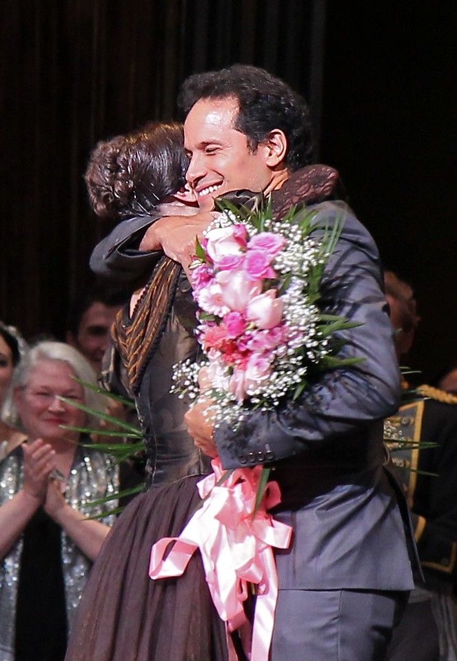 Irina Dvorovenko and José Manuel Carreño, Irina's Final ABT Performance, May 18, 2013<br /> <br /> José was a Principal Dancer at ABT until 2011 and danced frequently with Irina.