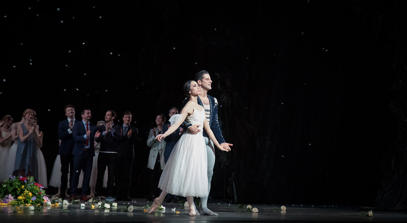 Marcelo Gomes with Stella Abrera, 20th Anniversary ABT Performance, Giselle, May 30, 2017