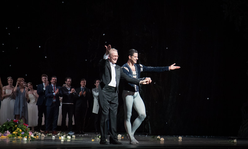 Marcelo Gomes with David LaMarche, 20th Anniversary ABT Performance, Giselle, May 30, 2017