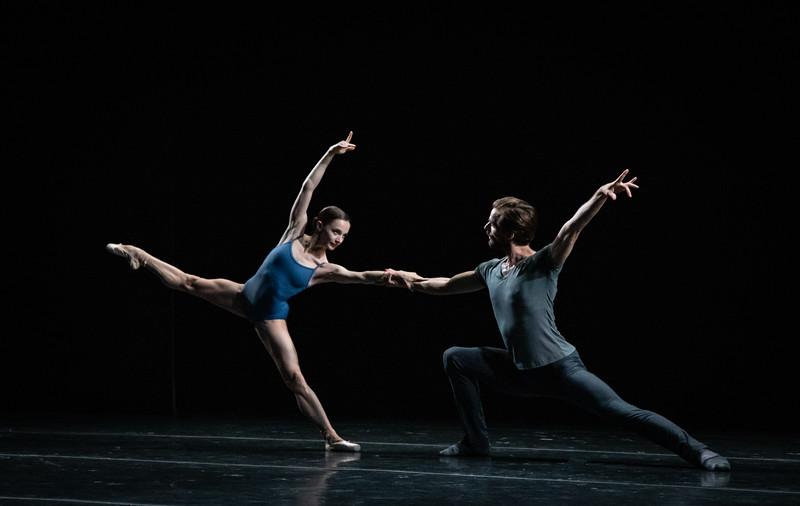 Sebastian Kloborg and Maria Kochetkova, Bach Duet,  Maria Kochetkova Catch Her If You Can, Joyce Theater, July 16, 2019