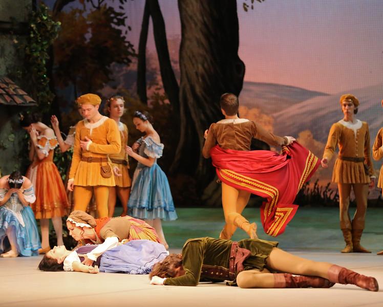 Natalia Osipova, Anna Novosyolova,and Vladimir Tsal, Mikhailovsky Ballet, Giselle, November 11, 2014