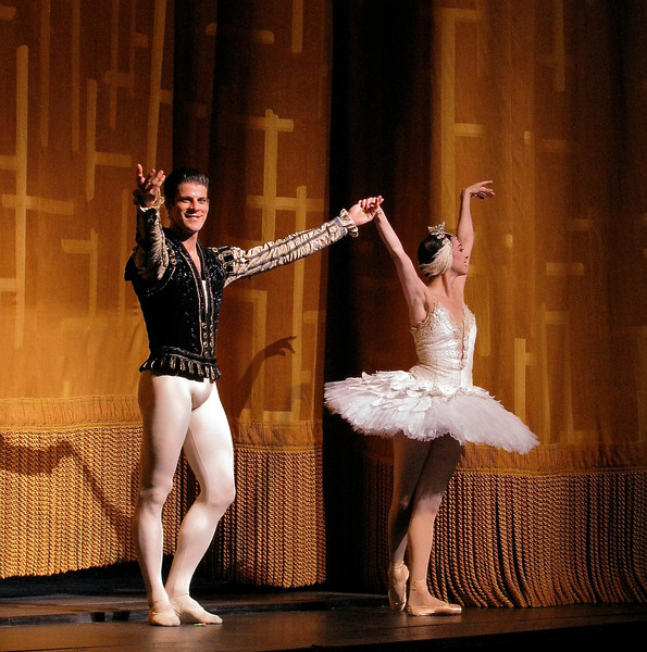 Nina Ananiashvili and Marcelo Gomes, Swan Lake, May 29, 2008