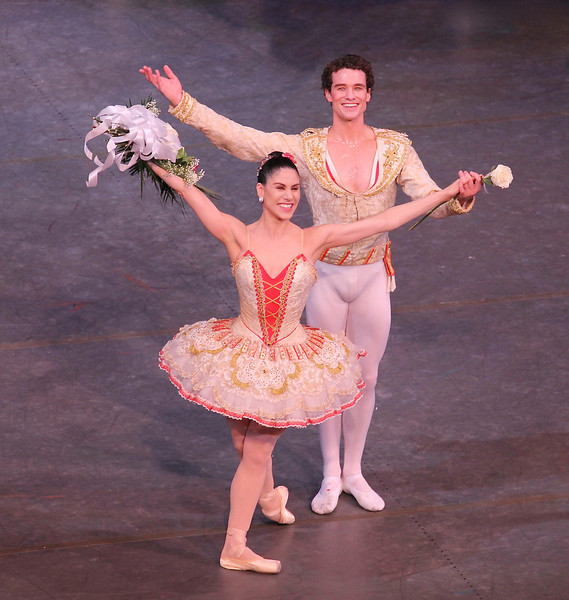 Paloma Herrera and Cory Stearns, Don Quixote, May 25, 2013<br /> <br /> Paloma's balances in the pas de deux with Cory were incredibility long and controlled; her turn section consisted of nice alternating single and double fouettés that drew applause from the audience. Cory's dancing was controlled throughout and complemented her well. A nice way to spend a cold, rainy Saturday afternoon over the Memorial Day weekend.