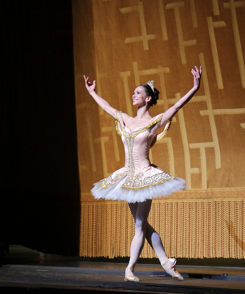 "Polina Semionova, Sylvia, June 28, 2013 <br><br> Frederick Ashton of The Royal Ballet created the ballet in 1952 as a star vehicle for Margot Fonteyn and was performed until 1965. Léo Delibes' score is beautiful, a masterpiece of 19th-century ballet music. Tchaikovsky was so impressed with it that he once observed: ""Had I known Sylvia existed, I would not have dared compose Swan Lake!""  <br><br> A problem arose when The Royal Ballet and ABT agreed to co-produce the revival of Sylvia: the choreography was never notated and the only record was a poorly lit black and white film. Christopher Newton, ballet master under Ashton who danced Sylvia during the 1950s kept handwritten notes of the choreography and reconstructed the some of the steps from memory. In addition, costume designs were found in The Royal Ballet's archives in a mislabeled box along with paintings and photographic records of the original sets. The World Premier of the revival of Sylvia was given by The Royal Ballet in 2004 while ABT debuted its version in 2005. See the <a href=""http://www.abt.org/sylvia/"">ABT website</a> for more detail. <br><br> ABT's star power was on full display in Friday night's Sylvia with Polina Semionova and Roberto Bolle leading the cast. Semionova along with tennis star Novak Djokovic appear in <a href=""http://www.fastretailing.com/eng/group/news/1303191700.html""> UNIQLO AIRism underwear</a> advertisements that appear in New York City subway trains (here is a  <a href=""http://www.youtube.com/watch?v=A-wb1RpfUZg ""> video advertisement</a> featuring Polina). Roberto is one of ballet's biggest stars. He has a huge international following as evidenced by his over 100,000 followers on  <a href=""https://twitter.com/RobertoBolle"">Twitter</a>.  <br><br> Polina was Sylvia, a very demanding role both dramatically and technically. She is onstage almost throughout the performance with several very tiring solos. Sylvia is difficult dramatically as she must run the gamut of roles: she is a powerful leader of an Amazonian tribe; a woman who morns the loss of Aminta after she shoots him with an arrow; a seductress of Orion in an effort to gain her freedom; and finally a woman who falls in lover with Aminta. Polina danced well, except for a diagonal jumping and pirouette section in Act I that seemed a bit off the music. Her solos were beautiful, taking full advantage of her long flowing arms.  <br><br> Bolle was the Aminta the shepherd, who is in love with Sylvia. Roberto was strong and steady throughout, his solos were rock solid without waiver. Technically, he had a nice saute de basque section and had a very nice triple pirouette which finished in releve, pausing a few seconds for effect. His partnering skills are remarkable, showering attention on his beloved Sylvia. Polina and Roberto connected well, particularly when he removes Sylvia's veil, revealing his true love as he is overcome with emotion. Polina and Roberto make a nice pair, dancing in unison with feeling. Several jumping fish dives were done well and drew applause. <br><br> I also noted the corps dancing in Act I of the woodland creatures, an Amazonian tribe dancing in celebration of their hunt. This is a dance of female empowerment with tribe members dancing with bows and arrows: ""Don't mess with us! We rule the forest!"" The dancers were in synch in the fouetté section; not an easy task given they are performing the step with a bow in one hand. Also, the lighting in the first set is beautiful, simulating a blue moonlit night that provides illumination for the dancing. <br><br> Jared Matthews is Orion, the evil hunter. I have seen Jared perform several times this year and this performance continues his hot streak as he is having a very good season. His two pas de deux with Polina were appropriately awkward and tense as Sylvia is trying to escape."