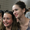 Polina Semionova, Sylvia, June 28, 2013<br /> <br /> Polina poses with an excited young fan<br /> <br /> I had extra time after the Friday performance and stopped by the door where the dancers exit in the underground parking lot at Lincoln Center. I heard that some fans linger for an opportunity to see their favorite dancers and wanted to see what it was all about. <br /> <br /> There were about 30-50 people milling about Friday evening. Polina came out about 20 minutes after the performance to a large ovation. She was very gracious and patient, posing with her fans and signing numerous autographs.<br /> <br /> Roberto came out about 10 minutes later and was particularly considerate and cordial. Some wanted an autograph, photo, or a brief chat-essentially an additional connection with him after a great performance. After satisfying all of the demands of his fans, he waved goodbye and slowly walked away into the Manhattan evening.