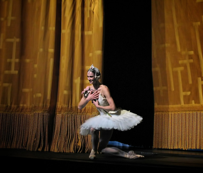 "Polina Semionova, Swan Lake, July 2, 2011 <br><br> Polina Semionova was born in Moscow and studied at the Bolshoi Ballet School. She graduated in 2002 and was invited to join the Berlin State Opera Ballet as a Principal Dancer at the age of 17. In her first season, she danced leading roles in The Nutcracker, La Bayadere, and Onegin. She has appeared as a guest artist with the English National Ballet, Tokyo Ballet, Vienna State Opera Ballet, Maryinsky Ballet, Bolshoi Ballet, and the Stuttgart Ballet. She stars as Odette-Odile in the Zurich Ballet production of Swan Lake, which was recently filmed and released on DVD. <br><br> Semionova's awards include a gold medal at the Moscow International Ballet Competition in 2001, First Prize at the Vaganova-Prix Ballet Competition in St. Petersburg and the Junior Prize at the Nagoya International Ballet Competition in 2002, Daphne Prize (2004), German Critics Choice Award (2005), Dancer of the Year (2007) and Prize of Heinz Spoerli. <br><br> She made her debut with ABT in 2011 and joined as a Principal Dancer in 2012.  <br><br> Here is a beautiful and inspiring <a href=""http://www.youtube.com/watch?v=UaO7bS5Ky6M"">YouTube video</a> of her performing to instrument music.   <br><br> Semionova, along with tennis star Novak Djokovic appear in <a href=""http://www.fastretailing.com/eng/group/news/1303191700.html"">UNIQLO AIRism underwear</a> advertisements; I have seen ads recently in New York City subway trains. Here is a  <a href=""http://www.youtube.com/watch?v=A-wb1RpfUZg "">AIRism ad</a> featuring Polina."