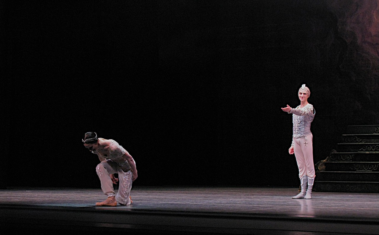Polina Semionova and David Hallberg, La Bayadere, May 26, 2012