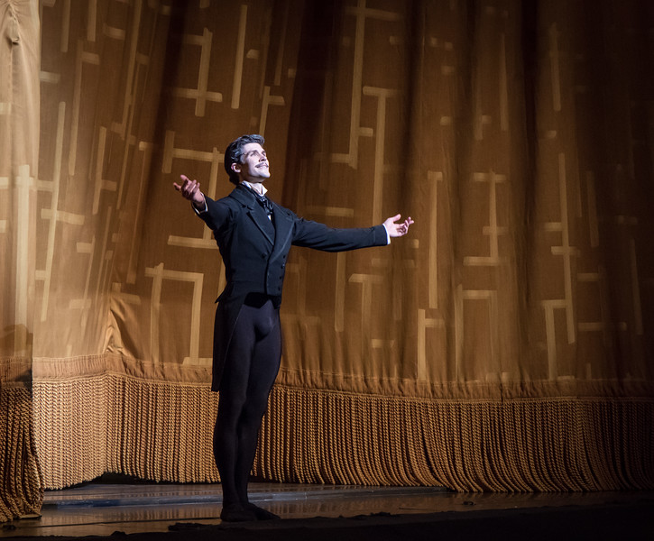 Roberto Bolle, Onegin, June 22, 2017