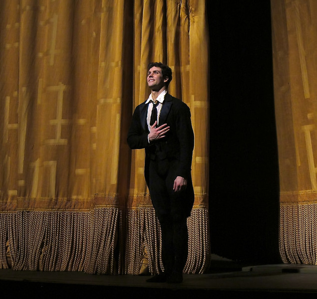 """Roberto Bolle, Lady of the Camellias, June 5, 2010 <br><br> Italian Roberto Bolle is one of ballet's biggest stars. He has a huge international following as evidenced by his over 100,000 followers on  <a href=""""https://twitter.com/RobertoBolle"""">Twitter</a>; photos on <a href=""""http://www.flickr.com/photos/robertobollefanclub/"""">his flickr fanclub</a> have attracted about 100,000 views.  <br><br> Bolle entered the La Scala Theatre Ballet School at age 11. According to <a href=""""http://www.robertobolle.com/ """">his website</a> Rudolf Nureyev noticed his talent and chose him to interpret a role in the ballet Death in Venice. He joined the Theatre Company in 1994 and was promoted to Principal in 1996 at age 20.  <br><br> Since then he has become an international superstar, having danced with the Royal ballet, American Ballet Theatre (ABT), the National Ballet of Canada, the Stuttgart Ballet, the Finnish National Ballet, the Staatballett Berlin, the Vienna Staatsoper Ballett, the Staatsoper in Dresden, the Munich Ballet,  and the Tokyo Ballet. He has starred in many contemporary and classical ballets such as Sleeping Beauty, Cinderella, Don Quixote, Swan Lake, The Nutcracker, La Bayadère, Giselle, La Sylphide, Manon, Romeo and Juliet, Onegin, and The Merry Widow.  <br><br> His notable performances include: •In 2000, he opened the season at Covent Garden Opera House in London. •In 2000, he was invited by the Bolshoi Ballet to celebrate Maya Plisetskaya's 75th birthday in the presence of President Vladimir Putin. •In 2002, Bolle danced on the occasion of Queen Elizabeth's Golden Jubilee at Buckingham Palace in the presence of the Queen. The event was broadcast live. •In 2004, he danced in front of Pope John Paul II in Saint Peter's square to celebrate young people's day. •In 2004, he danced with Alessandra Ferri to celebrate the re-opening of La Scala Theatre after its restoration. •In 2005 at Covent Garden Opera House in London, he danced in Sylvia. The BBC broadcast the perfor"""