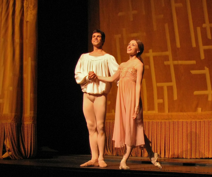 Irina Dvorovenko and Roberto Bolle, Romeo and Juliet, July 11, 2009