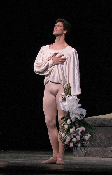 "Roberto Bolle, Romeo and Juliet, July 11, 2009 <br><br> Italian Roberto Bolle is one of ballet's biggest stars. He has a huge international following as evidenced by his over 100,000 followers on  <a href=""https://twitter.com/RobertoBolle"">Twitter</a>; photos on <a href=""http://www.flickr.com/photos/robertobollefanclub/"">his flickr fanclub</a> have attracted about 100,000 views.  <br><br> Bolle entered the La Scala Theatre Ballet School at age 11. According to <a href=""http://www.robertobolle.com/ "">his website</a> Rudolf Nureyev noticed his talent and chose him to interpret a role in the ballet Death in Venice. He joined the Theatre Company in 1994 and was promoted to Principal in 1996 at age 20.  <br><br> Since then he has become an international superstar, having danced with the Royal ballet, American Ballet Theatre (ABT), the National Ballet of Canada, the Stuttgart Ballet, the Finnish National Ballet, the Staatballett Berlin, the Vienna Staatsoper Ballett, the Staatsoper in Dresden, the Munich Ballet,  and the Tokyo Ballet. He has starred in many contemporary and classical ballets such as Sleeping Beauty, Cinderella, Don Quixote, Swan Lake, The Nutcracker, La Bayadère, Giselle, La Sylphide, Manon, Romeo and Juliet, Onegin, and The Merry Widow.  <br><br> His notable performances include: •	In 2000, he opened the season at Covent Garden Opera House in London. •	In 2000, he was invited by the Bolshoi Ballet to celebrate Maya Plisetskaya's 75th birthday in the presence of President Vladimir Putin. •	In 2002, Bolle danced on the occasion of Queen Elizabeth's Golden Jubilee at Buckingham Palace in the presence of the Queen. The event was broadcast live. •	In 2004, he danced in front of Pope John Paul II in Saint Peter's square to celebrate young people's day. •	In 2004, he danced with Alessandra Ferri to celebrate the re-opening of La Scala Theatre after its restoration. •	In 2005 at Covent Garden Opera House in London, he danced in Sylvia. The BBC broadcast the performance on Christmas Day. •	In 2006, Bolle danced at the opening ceremony of the 2006 Winter Olympic Games in Turin where he performed a solo created for him by Enzo Cosimi.  •	In 2007 he performed for the first time with ABT as a guest artist, on the occasion of Alessandra Ferri's farewell performance. <br><br> His numerous partners include Altynai Asylmuratova, Darcey Bussell, Lisa-Marie Cullum, Viviana Durante, Alessandra Ferri, Carla Fracci, Isabelle Guérin, Sylvie Guillem, Greta Hodgkinson, Margareth Illmann, Susan Jaffe, Lucia Lacarra, Agnès Letestu, Marianela Nuñez, Elena Pankova, Lisa Pavane, Darja Pavlenko, Laetitia Pujol, Tamara Rojo, Polina Semionova, Diana Vishneva, Zenaida Yanowsky, Svetlana Zakharova.  <br><br> For the 2009 Spring Season at the Metropolitan Opera House in New York, he performed as a Principal Dancer with the American Ballet Theatre. Since December 1998 he has been Resident Guest Artist at La Scala Theatre. During the 2003/2004 season he was promoted to Etoile at La Scala Theatre. <br><br> Since 1999 he has been a Goodwill Ambassador for UNICEF and in 2006 he visited Sudan on his first trip into the field."