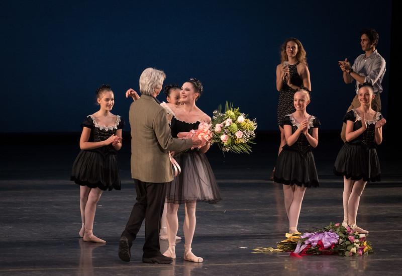 Veronika Part, FInal ABT Performance, Kevin McKenzie, Mozartiana, July 8, 2017