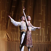 "Veronika Part and Cory Stearns, Le Corsaire, June 6, 2013 <br><br> I agree with The New York Times' dance critic <a href=""http://www.nytimes.com/2013/06/06/arts/dance/le-corsaire-american-ballet-theater.html?hpw&_r=0"">Alastair Macaulay</a> that ABT's Le Corsaire is frivolous and superficial, with a ridiculous, nonsensical comedic plot. However, unlike Macaulay, I thoroughly enjoy this ballet that showcases ABT's bravura dancing, having seen it more than dozen times over the past 15 years (Thursday and Friday performances this season).  <br><br> The plot goes something like this: Conrad the pirate (Thursday: Cory Stearns, Friday: Marcelo Gomes) arrives at a bazaar (in Turkey?) where slave girls are being traded. Lankendem (Thursday: Jared Matthews, Friday: Sascha Radetsky) owns the bazaar. Conrad sees Medora (Thursday: Veronika Part, Friday: Paloma Herrera) and immediately falls in love. The buffoon pasha buys Gulnare (Thursday: Yuriko Kajiya, Friday, Stella Abrera) and Medora. Conrad commands his slave Ali (Thursday: James Whiteside, Friday: Ivan Vasiliev) to steal Medora and Conrad's pirates kidnap Lankendem. <br><br> In Conrad's hideout, Medora tells Conrad, in the name of their love, to free all of the slave girls. He agrees, but his friend Birbanto (Thursday: Luis Ribagorda, Friday: Joseph Phillips) rebels against the idea and persuades the pirates to riot against Conrad. Conrad fights the pirates and convinces them to give up their mutinous plan. Birbanto's next scheme is to spray a rose with sleeping potion. Conrad is drugged to sleep. Birbanto attempts to capture Medora. She stabs him with a knife. In the confusion, Lankendem steals Medora back and escapes. <br><br> The pasha is happy that Medora has been recaptured and declares that she will be his number one wife. Medora is repulsed. Conrad, Birbanto, and the pirates storm the pasha's palace and chase away the pasha and his men. Medora then exposes Birbanto as a traitor; Conrad shoots him and then escapes to the ship. On ship, there is a terrible storm. The ship sinks. In the Epilogue, Conrad and Medora cling to a rock and offer ""…thanks for their miraculous survival, a testimony to the strength of their love.""  <br><br> The plot is silly with, as Macaulay notes, no link to the original Byron poem. However, there is a lot of dancing, and depending on the cast, a very high level of dancing with plenty of opportunity to see something exciting. With all this great dancing, why worry about a silly plot? <br><br> Regarding the dancing, Cory was a confident and outgoing Conrad Thursday evening, paired with Veronika Part. Cory has had a good season so far. I enjoyed him in the Shostakovich Trilogy in which he held his own with the Russian all-star team of Natalia Osipova, Ivan Vasiliev, and Diana Vishneva. I particularly like his double saute de basques, which have nice air time and horizontal distance from takeoff to landing, and his double assembles, fully on display on a nice diagonal with Vasiliev in Shostakovich (see the <a href=""http://www.abt.org/education/dictionary/index.html"">ABT ballet dictionary</a> for a description and video of the steps). Marcelo Gomes' performance Friday night brought a new level of enthusiasm to the role, as his excitement during his bows after his solos in anticipation of Medora clearly showed. <br><br> Veronika Part radiated beauty during her barzaar entrance in which Conrad immediately fell in love. She has a long, beautiful, elegant line; a bit off on some of her turns in the first act but she pulled off the demanding fouette series in the second act. Paloma Herrera was in good form as Medora on Friday.  <br><br> Ali the Slave doesn't do much in this ballet except for the dance with Medora and Conrad at the opening of the second act. Ivan Vasiliev was amazing on Friday night; if there is a better dancer in this role today, let me know. His dancing style is all-out, full  throttle all the way, but with very controlled turns on Friday. His solo was similar to this <a href=""http://www.youtube.com/watch?v=vXh3Wl08mW4  "">YouTube clip.</a> Notable are his forever hanging double pas de chat  sequence (4:30), a funky step that I can't begin to describe (4:41), nice controlled turns in attitude (4:54), very unique innovation on his double saute de basques (5:07) in which he shoots out his lead leg in a sweeping motion, 540 trick at 7:53, double assemble sequence at 8:00, and a nice turn sequence with pirouettes a le second followed by four turns in second, finished by multiple controlled turns at 9:07.  <br><br> I also liked Ivan's dancing in Shostakovich Trilogy but don't think his style, gymnast body type, and line mesh well in more classical pieces such as Symphony in C. <br><br> James Whiteside was the slave on Thursday night. He is a former Boston Ballet Principal Dancer in his first season at ABT. His solo was a standard version, with very high diagonal split jumps. His pirouettes are very fast with arms tightly wrapped, the opposite of Jose Manuel Carreno. This was the first time I've seen him dance. It must be a nerve wracking experience doing the slave for the first time at the Met, but thought he pulled it off. <br><br> Corps members Luis Ribagorda (Thursday) and Joseph Phillips (Friday) played the role of Birbanto. Phillips impressed me in the role of the gypsy in Don Quixote and look forward to seeing him again. Nice to see that corps members are getting starring roles at ABT. Blogger <a href=""http://haglundsheel.typepad.com/haglunds_heel/2013/04/abt-big-debuts-413.html "">Haglund</a> reviews ABT's Washington Le Corsaire and was particularly impressed with Ribagorda and Phillips.  <br><br> This year's production features new costumes by Anaibal Lapiz. I am happy that Lankendem's old costume that looked like pajamas that my 9-year old would wear has been retired. Macaulay calls the bikini tutus that the slave girls wear his least favorite form of dance apparel. I actually like the look, particularly on Simone Messmer, Luciana Paris, Isabella Boylston (Thursday night), Melanie Hamrick, Kristi Boone, Leann Underwood (Friday night). Any more comments on bikini tutus and I might get into trouble. <br><br> Although the orchestra area was full Thursday, audience response was muted during the curtain calls. The Friday cast received a more enthusiastic response."