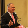 Weatherman Bob Maxon of Hartford's NBC WVIT 30 handled introduction of the speakers and the extensive commentary covering the efforts being made by American Cancer Society in support of victims.