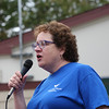 Geri Spollett of the Yale Diabetes Center added support and encouragement for the event.