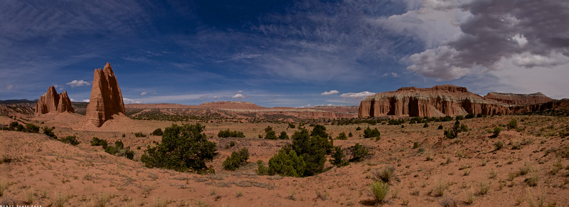 cathedral Valley Pano