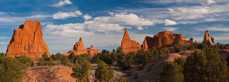 A different Kodachrome Basin panorama.
