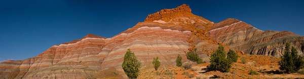 A Vermillion Cliffs pano near the site of the old Paria movie set.