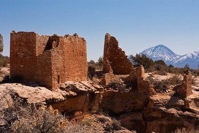 Castle House on Little Ruin Canyon at Hovenweep