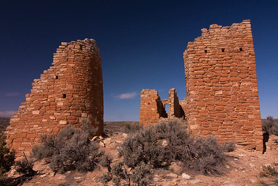 A Portion of Castle House at Hovenweep