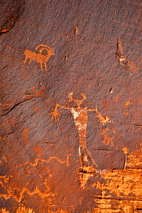 Petroglyphs Near Canyonlands