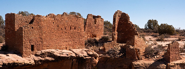 Castle House Pano at Hovenweep National Monument